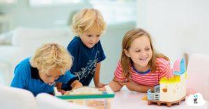 Como trabajar la educación emocional infantil con juguetes actuales.