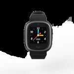 Mysmartwatch T36 negro. Reloj inteligente para niños resistente al agua