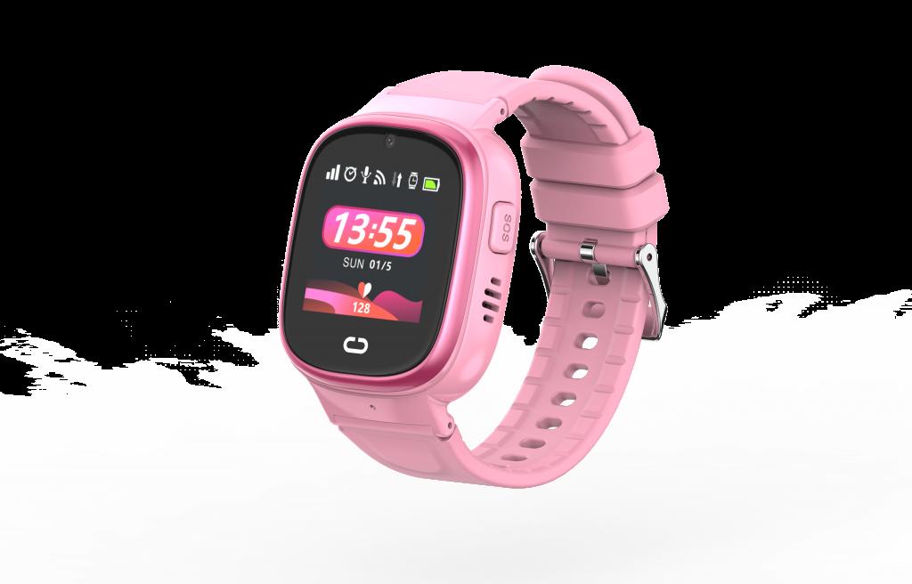 Mysmartwatch T36 rosa. smartwatch para niños con GPS