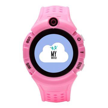My watch rosa - Reloj inteligente con GPS para niños y niñas
